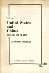 The United States and China: Peace or war?