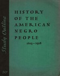 Study outline history of the American Negro people, 1619-1918