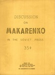 Discussion on Makarenko in the Soviet Press