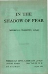 In the shadow of fear: American liberties, 1948-49