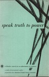 Speak truth to power, a Quaker search for an alternative to violence: A study of international conflict