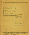 Changes in bourgeois nationalism: From the Jacobins to the