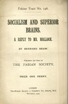 Socialism and superior brains: A reply to Mr. Mallock