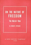 On the nature of freedom: The Marxist view