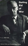 Getting rid of war: National policy and personal responsibility