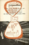 Automation: A report to the UAW-CIO Economic and Collective Bargaining Conference held in Detroit, Michigan the 12th and 13th of November 1954