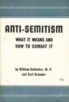 Anti-Semitism: What it means and how to combat it