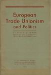 European trade unionism and politics