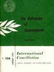 The diplomacy of disarmament