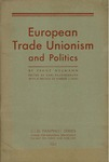 European trade unionism and politics