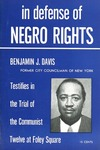 In defense of Negro rights