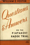 Questions and answers on the Piatakov-Radek trial