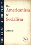 The Americanism  of socialism