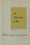 An alternative to war