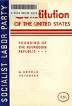 Constitution of the United States: Founding of the bourgeois republic by Arnold Petersen