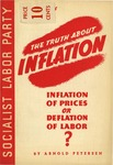 Inflation of prices or deflation of labor?