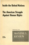 Inside the United Nations.: The American struggle against human rights.
