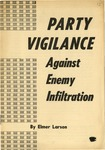 Party vigilance against enemy infiltration