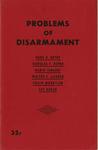 Problems of disarmament