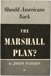 Should Americans back the Marshall plan?