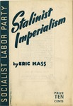 Stalinist imperialism: The social and economic forces behind Russian expansion