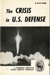 The crisis in U.S. defense