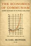 The economics of communism: The Soviet economy in its world relation
