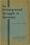 The underground struggle in Germany