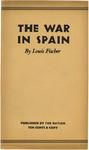 The war in Spain by Louis Fischer
