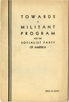 Towards a militant program for the Socialist Party of America