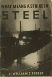 What means a strike in steel