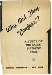 Why did they confess?: A study of the Radek-Piatakov trial
