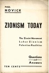 Zionism today: The Zionist movement Labor Zionism Palestine realities. Questions and answers.