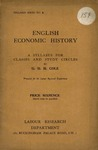 English economic history: A syllabus for classes and study circles