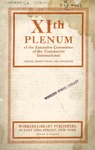 XIth plenum of the Executive Committee of the Communist International: Theses, resolutions, and decisions