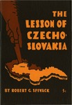 The lesson of Czechoslovakia