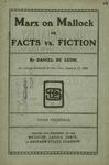 Marx on Mallock, or, Facts vs. fiction