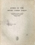 Ethics in the Soviet Union today by Howard L. Parsons