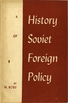 A history of soviet foreign policy