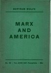 Marx and America