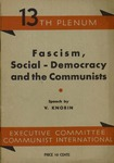 Fascism, social-democracy and the communists