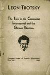 The turn in the Communist International and the German situation
