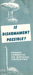 Is disarmament possible?