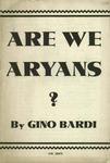 Are we Aryans?