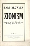 Zionism: Address at the Hippodrome meeting Jun 8, 1936