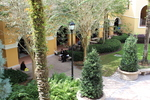 Courtyard from Above 1 by Rosen College of Hospitality Management