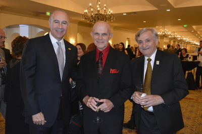 George Aguel, Ron Logan and Dr. Pizam at Cocktail Hour 2