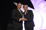 Bill Davis receives award from Dr. Pizam 1