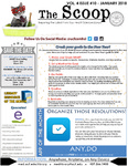 The Scoop, Vol. 4 Issue 10, January 2018 by Health Sciences Library