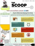 The Scoop, Vol. 7 Issue 1, April 2020 by Health Sciences Library